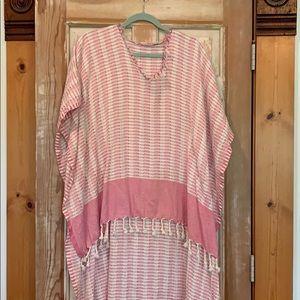 Beautiful pink cotton Kaftan